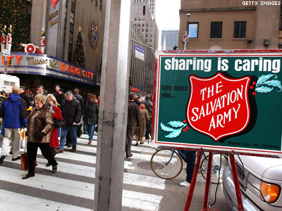 Blogger: Salvation Army No Friend to LGBT Folks
