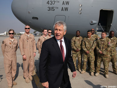 Hagel: Full National Guard To Recognize Gay Couples