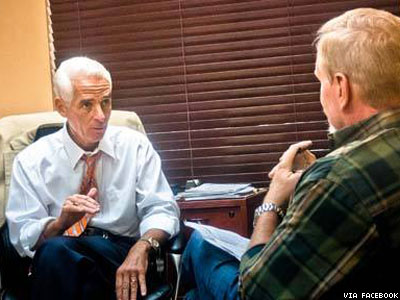 Charlie Crist Says 'Sorry' for Supporting Florida's Same-Sex Marriage Ban