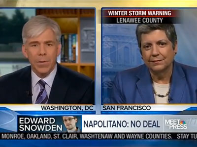 WATCH: Janet Napolitano Discusses LGBT Rights onMeet the Press