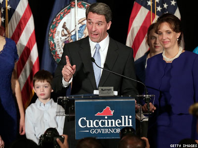 In Parting Blow, Va.'s Cuccinelli Files Two Last Antigay Opinions