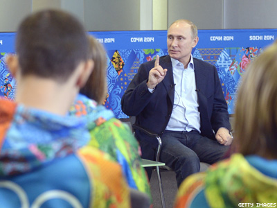 Putin to Gays: Leave Kids Alone and You'll Be Safe