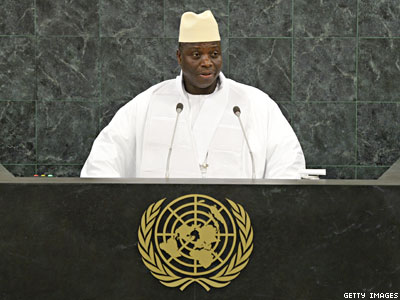 Gambian President Vows to Fight Gay 'Vermin' Like 'Malaria-Causing Mosquitoes'