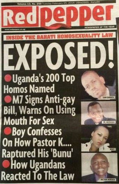 LGBT Ugandans Attacked, Killed as Tabloid Lists 'Top 200 Homos'