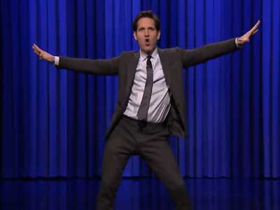 WATCH: Paul Rudd Lip-Synching to Queen and Tina Turner Will Cheer You Up