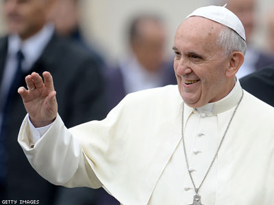 Pope Francis Says Church Must Examine Civil Unions