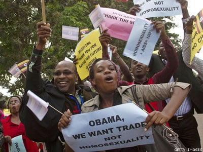 WATCH: Ugandan President Leads 5-Hour Parade Celebrating 'Jail the Gays' Law
