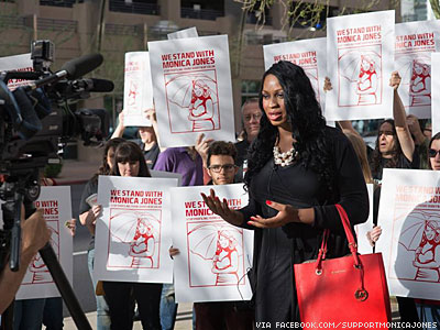 Arizona Activist Found Guilty of 'Walking While Trans'
