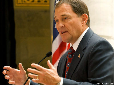 WATCH: Utah Gov. Says Failure to Defend Marriage Bans Courts Anarchy