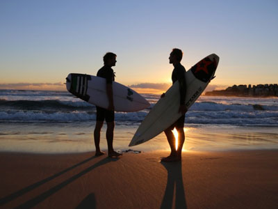 PHOTOS: Changing the Tide for Gay Surfers