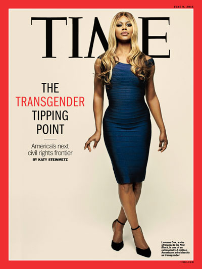 Time:Laverne Cox and 'Transgender Tipping Point' Cover