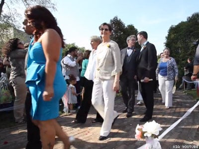 WATCH: Illinois Celebrates Statewide Marriage Equality
