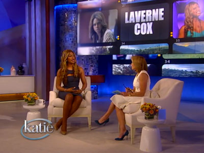 WATCH: With Laverne Cox, Katie Couric Shows the Power of Education
