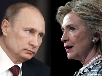 Hillary Clinton Had 'Shouting Matches' With Russian Pols on LGBT Rights