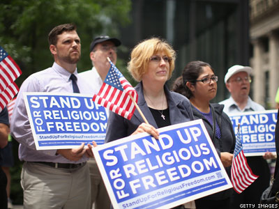 After Hobby Lobby, Right-Wingers Pray Gays Are Next