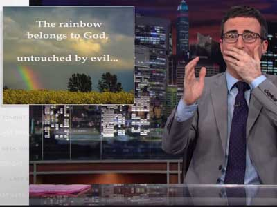 WATCH: John Oliver Brilliantly Exposes the U.S.-U.K. Influence on Uganda's Antigay Law
