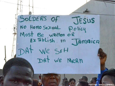 25,000 Jamaicans Rally to Save Antigay 'Buggery' Law