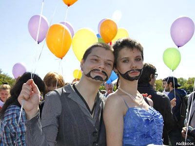 Russia Declares St. Petersburg LGBT Group 'Foreign Agent'