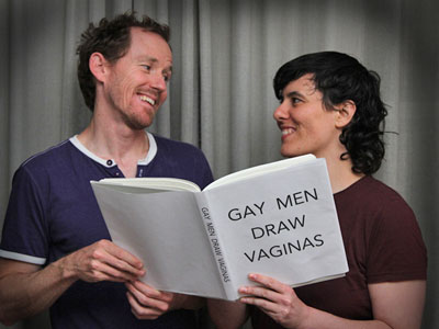 This Is What Happens When Gay Men Draw Vaginas
