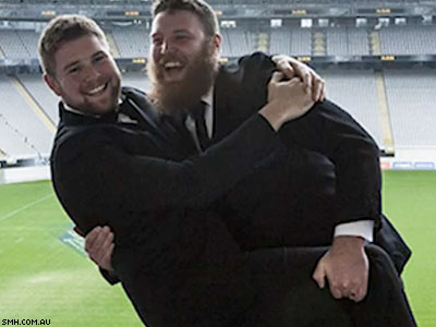 LGBT Groups, Conservatives Outraged As Straight Mates Marry for Rugby Tickets
