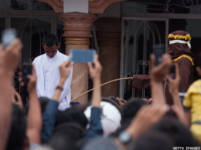 100 Lashes: New Law Reveals Indonesia's Split Personality on LGBT Rights