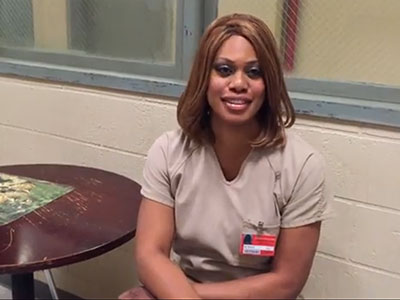 EXCLUSIVE: Laverne Cox Wants You to Go Purple for #SpiritDay