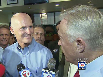 WATCH: Fla. Reporter Blasts Governor's 'Appalling' Marriage Equality Opposition