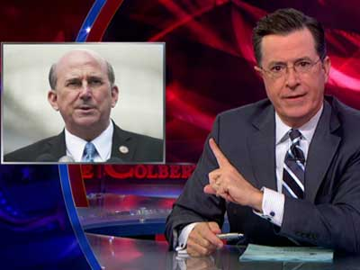 WATCH: Colbert Destroys Dimwit Politician Who Says Gays in the Military Get Massages All Day