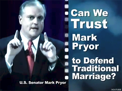 WATCH: NOM Targets Ark. Dem. Who Opposes Marriage Equality