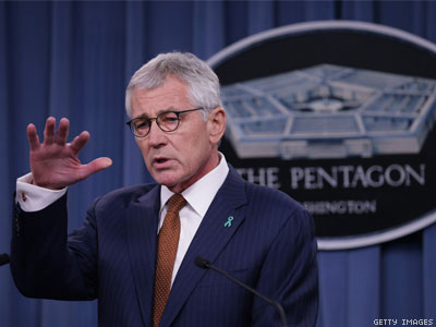 Will Chuck Hagel Open Door for Trans Troops on His Way Out?
