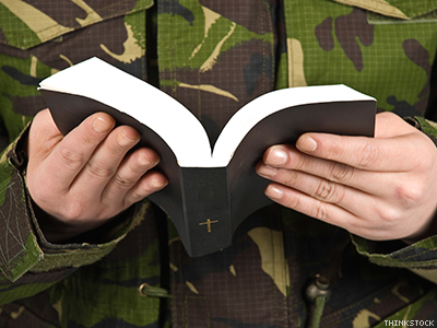 Report Debunks Right-Wing Claims of Military Persecution of Christians