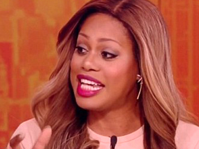 WATCH: Laverne Cox Caught in Middle of Screaming Match on The View