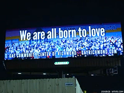 Va. LGBT Community Responds to 'Ex-Gay' Billboard: 'We Are All Born to Love'