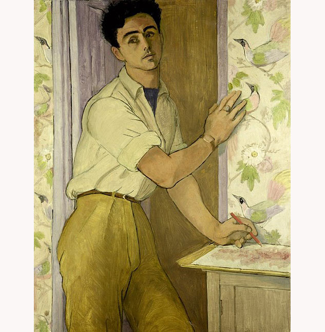 Self Portrait In The Bird Room 1952x633 0