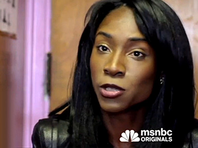 WATCH: MSNBC Tells a Trans Businesswoman of Color's Success Story
