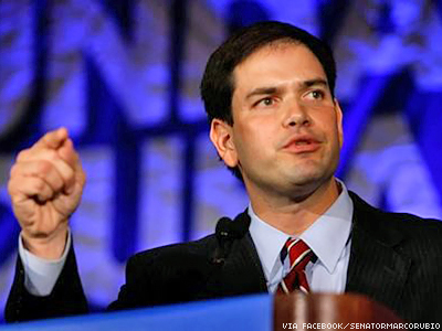 Marco Rubio Doesn't Think Courts 'Have The Power' to Define Marriage
