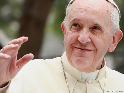 Pope Calls Same-Sex Marriage a 'Threat' to the Family
