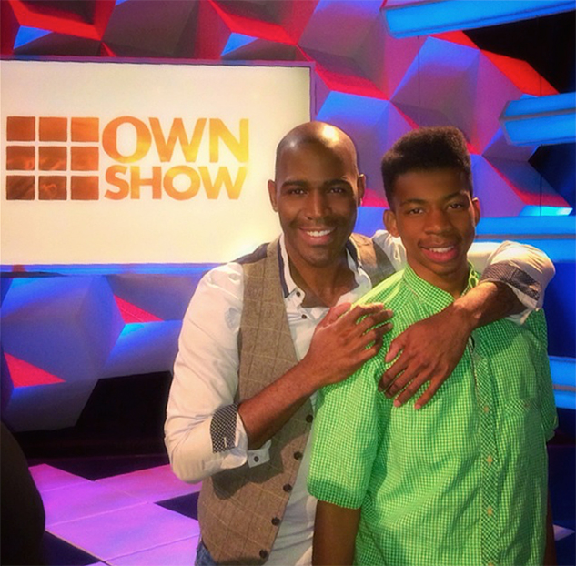 Karamo Brown And Youngest Son Chris X633