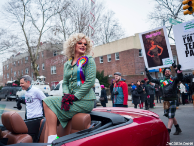 A Sacrilegious Lesbian and Homosexual Parade to Roll in NYC