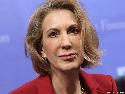 Eyeing Presidential Run, Carly Fiorina Tip-Toes Around Marriage