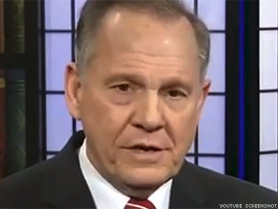 WATCH: Alabama's Antigay Judge Roy Moore Admits 'It's About Sexual Preference'