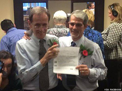 Roll Tide: Majority of Alabama Counties Now Marrying Same-Sex Couples