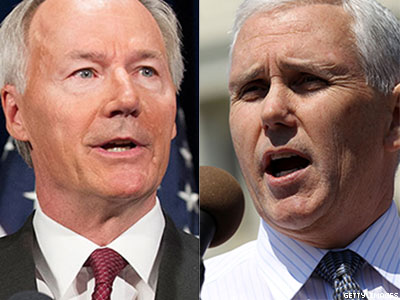 Antigay Legislation Quashed in Arkansas, Advances in Indiana
