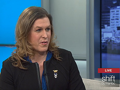 WATCH: Kristin Beck Wants to Be the First Trans Woman in Congress