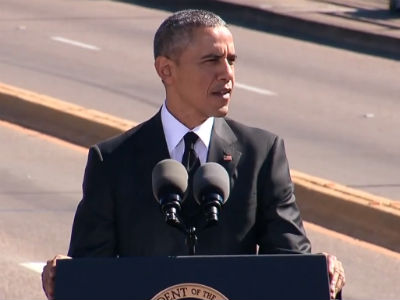 WATCH: Obama Invokes Gay Rights Movement in Selma Commemoration