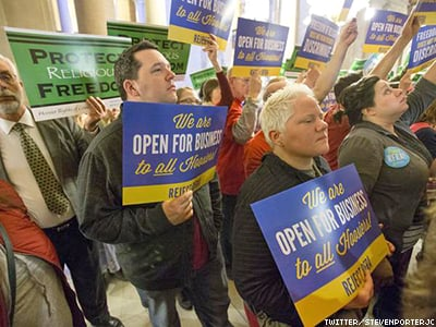 Indiana One Vote Away From Approving 'License to Discriminate'
