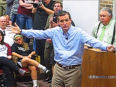WATCH: Ted Cruz Lashes Out at 'Radical Gay Marriage Agenda'