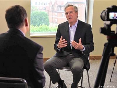 WATCH: Jeb Bush Is For Antigay Florists, Not LGBT Rights