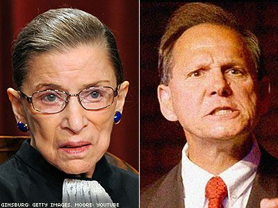 Alabama's Antigay Chief Justice Scolds Ruth Bader Ginsburg on 'Judicial Ethics'