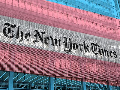 Why Is The New York Times Suddenly Focused on Transgender People?